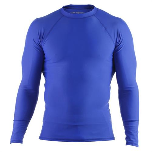 Clinch Gear Clinch Gear Basic Blue Rashguard - Long Sleeve